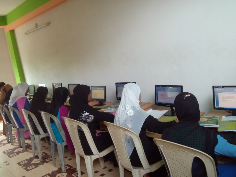 Computer training in barisal